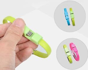 Bracelet Cable chargeur universel samsung android apple Neuf