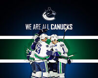 2 Lower bowl Canucks tickets