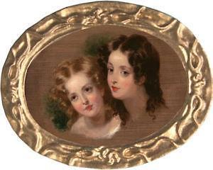 Victorian Oval Picture Frame Ebay