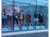 Shop Mannequin Bases and Fixtures - for charity shops or small shop businesses