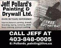Experienced Painter and Drywaller
