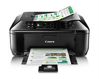 Canon PIXMA MX522 Wireless Color Photo Printer with Scanner, Cop