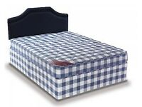 Brand New 4FT6 Double Light Quilt Bed Set With Fast Delivery...