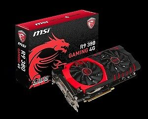 MSI 4gb R9 380 carte video