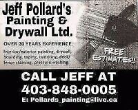 Experienced painter and drywaller - **Nov special **