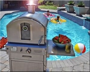 Pizza Oven Stainless Steel - Lakeshore Living
