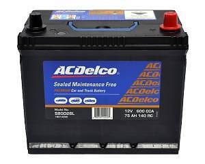 AC Delco S 80D26L 600cca Car Battery Maintenance Free BRAND NEW Morningside Brisbane South East Preview