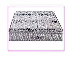 Gel Infused Pillow Top Mattress 7 Zone Pocket Spring New