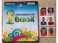 Official Fifa World Cup Sticker Album 2014 Like new unused for collectors!