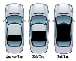 1980 - 1984 Cadillac DeVille Vinyl Top - 4 Door Sedan - Full Top