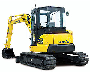2013 Komatsu PC55MR-3 Excavator, Low Hours