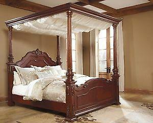 Canopybed king canopy bed | ebay