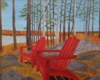 Local Artist Original Paintings - Gifts that last a lifetime!