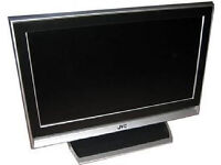 jvc lt32de9bj lcd tv. good condition. free view build in