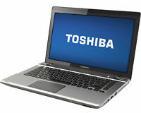 Laptop TOSHIBA, Core Duo, windows 7 + 3 GB Ram pour 200 $