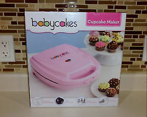 Babycakes Cupcake Maker & Vegan Cookbook