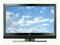 """LG 37"""" lcd tv fully working got freeview Hdmi scart ports."""