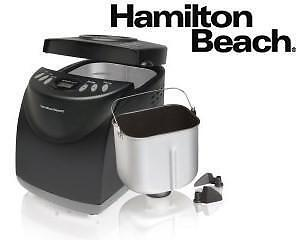 NEW HAMILTON BEACH HOME BREAD MAKER 2LB - GLUTEN FREE SETTING INCL 105563983