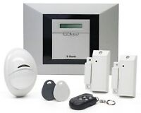 VISONIC  WIRELESS ; HOME SECURITY SYSTEM -NO MONITORING FEES