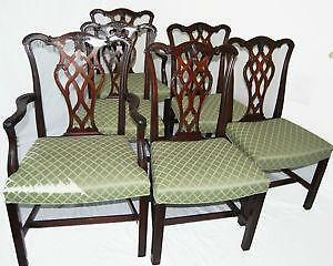 Antique Mahogany Dining Chairs & Antique Dining Chairs | eBay