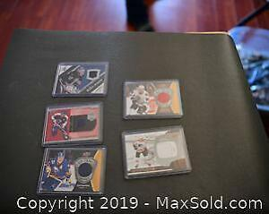 Game-Worn Hockey Jersey Cards A