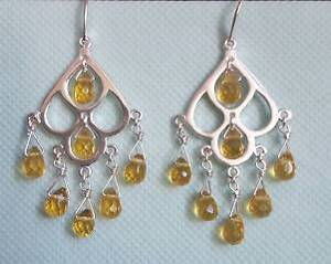 925 Sterling Silver Round Chandalier Earrings Surry Hills Inner Sydney Preview