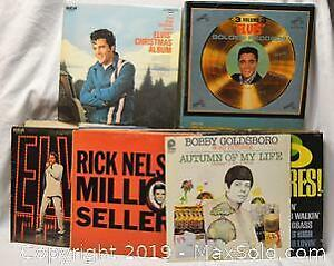 VINYL RECORD ALBUMS 33 1/3 rpm, 60s and 70s collection, over 40 LPs including double albums,