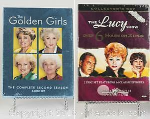 THE GOLDEN GIRLS 2nd season and THE LUCY SHOW