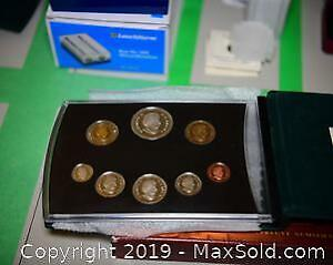 2004 Proof Set Of Canadian Coinage A