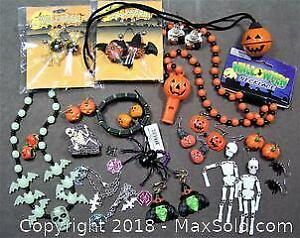 Assorted Halloween Jewelry - A