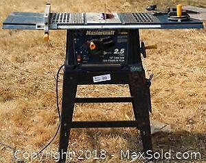 "Mastercraft Table Saw Pick up in Time-slot ""A"""