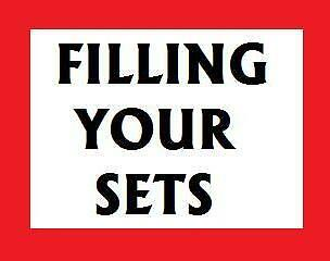 FILLING YOUR SETS