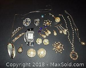 Vintage Costume Jewelry - A