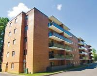 Two bedroom apartment for rent in Ajax with balconies, laundry &