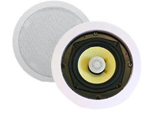 Haut-parleurs plafond encast. Kevlar 100W 5.25po 2 voies 1 paire