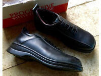 WORK SHOES SAFETY FOOTWEAR - UK SIZE 7 - BRAND NEW - STEEL TOE -BUSINESS INDUSTRIAL WAREHOUSE OFFICE