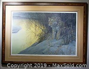Robert Bateman - Siberian Tiger, limited edition, framed, s/n