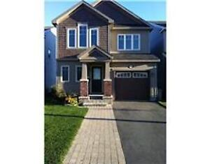 3BR Single House Barrhaven available in Aug. 1, 2017