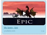 Elly Space: Epic (MP3) - Music about a knight and dragon