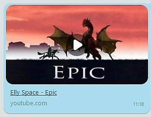 Elly Space: Epic (MP3) - Music about a knight and dragon   in Hoxton,  London   Gumtree