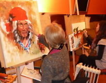 Awesome art / oil painting & life drawing courses Melbourne Northcote Darebin Area Preview