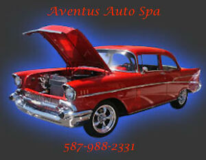 Detailing Aventus Auto Spa     Get a showroom shine, every time.