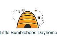 Little Bumblebees Dayhome! Aspen Trails
