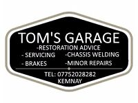 Friendly Local Vehicle Servicing, Repairs, Advice & Garage Services in Kemnay Aberdeenshire