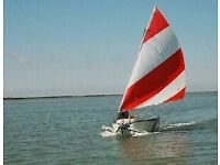 Porta-Bote sailing boat including sail with folding transom A must have for any sailing fan
