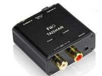 FiiO D03K Taishan DAC Digital to Analogue Converter (Connects Optical to RCA / line out) - £20
