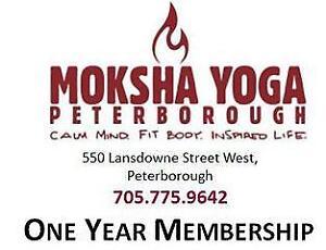 Moksha Yoga, Peterborough Annual Membership