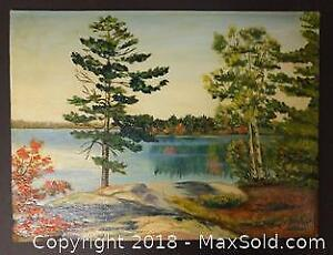 Original Patterson Oil (Lake Scene)
