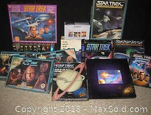 Vintage Star Trek Puzzles, Games, Books - B