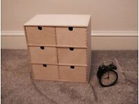 Mini chest of drawers, birch plywood - Ikea MOPPE